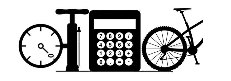 Mountain Bike Tyre Pressure Calculator