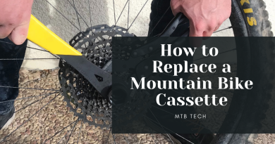 How to Replace a Mountain Bike Cassette