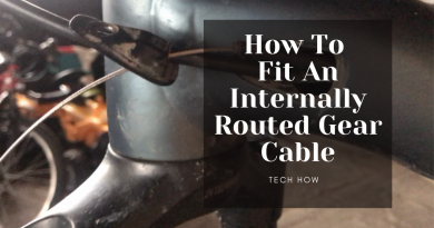 How To Fit An Internally Routed Gear Cable