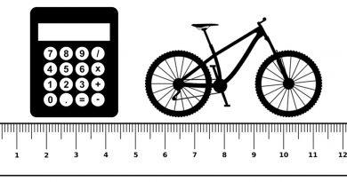 Mountain bike frame size calculator